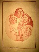 """Bury My Heart With My People"" Sketch by Jerry Easter"