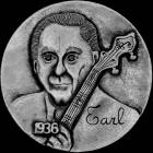 Steven D. Cox carved nickel
