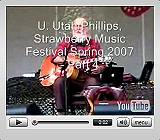 Click to watch Utah Phillips video on YouTube.