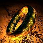 One ring to rule them all, one ring to find them, one ring to bring them all, and in the darkness bind them.